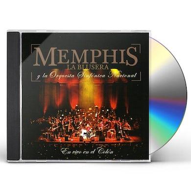 Memphis la blusera EN VIVO EN EL COLON CD