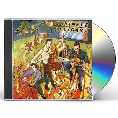 Gabinete Caligari AL CALOR DEL AMOR EN UN BAR CD