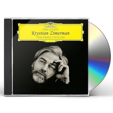 Krystian Zimerman SCHUBERT PIANO SONATAS D959 & 960 CD