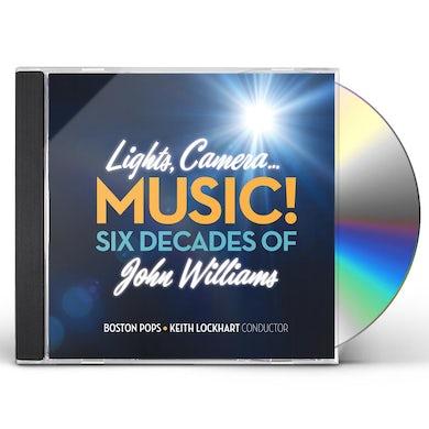 Boston Pops Orchestra LIGHTS CAMERA MUSIC SIX DECADES OF JOHN WILLIAMS CD