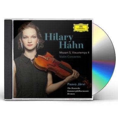 Hilary Hahn VIOLIN CONCERTOS: MOZART NO 5 & VIEUXTEMPS NO 4 CD