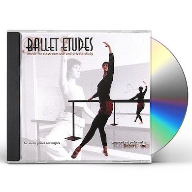 Robert Long BALLET CLASS MUSIC: BALLET ETUDES CD