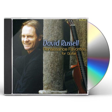 David Russell RENAISSANCE FAVORITES FOR GUITAR CD