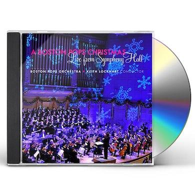 Boston Pops Orchestra BOSTON POPS CHRISTMAS: LIVE FROM SYMPHONY HALL CD