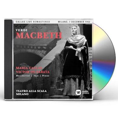 Maria Callas VERDI: MACBETH (MILANO 07/12/1952) CD