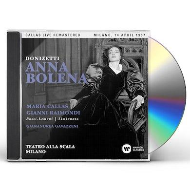 Maria Callas DONIZETTI: ANNA BOLENA (MILANO 14/04/1957) CD
