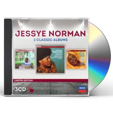 Jessye Norman THREE CLASSIC ALBUMS CD