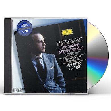 Maurizio Pollini LATE PIANO SONATAS: 3 PIECES F CD