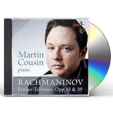 Rachmaninov ETUDES-TABLEAUX OP 33 & 39 CD