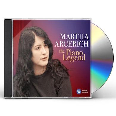 Martha Argerich PIANO LEGEND (BEST OF) CD
