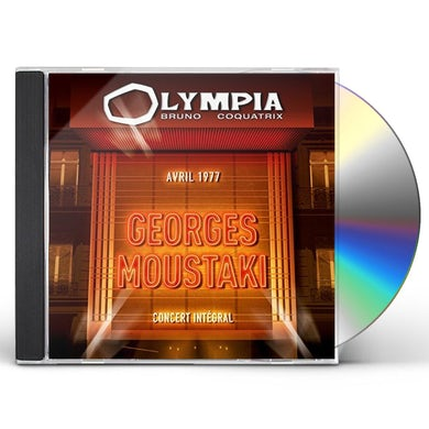 Georges Moustaki OLYMPIA 2CD / 1977 CD