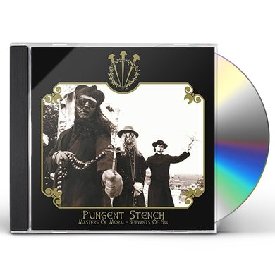 Pungent Stench MASTERS OF MORAL - SERVANTS OF SIN CD