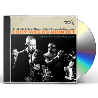 Cory Weeds LIVE AT FRANKIE'S JAZZ CLUB CD