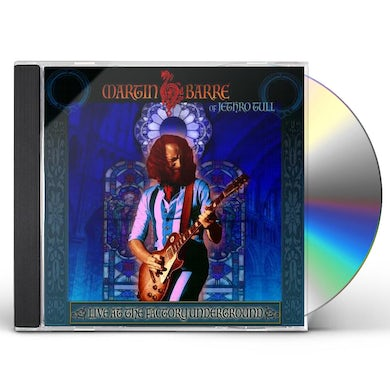 Martin Barre LIVE AT THE FACTORY UNDERGROUND CD