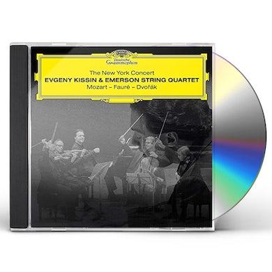Evgeny Kissin & Emerson String Quartet NEW YORK CONCERT: MOZART - FAURE - DVORAK CD