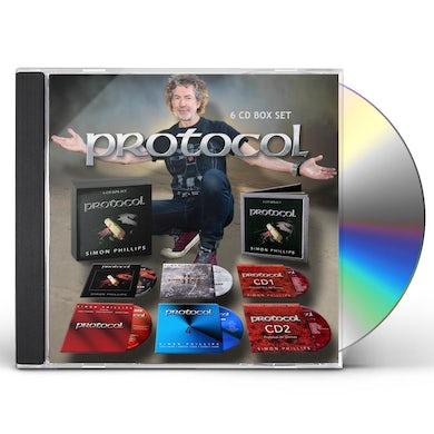 Simon Phillips PROTOCOL 6 CD BOX SET CD