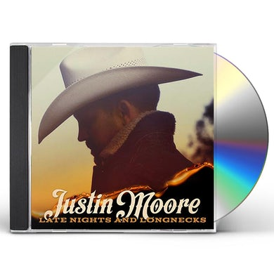 Justin Moore LATE NIGHTS AND LONGNECKS CD