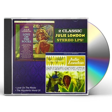 Julie London LOVE ON THE ROCKS / WONDERFUL WORLD OF CD
