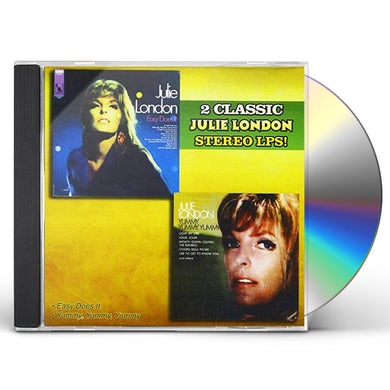 Julie London EASY DOES IT / YUMMY YUMMY YUMMY CD
