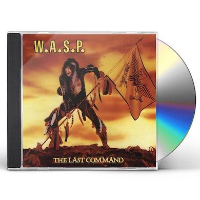 W.A.S.P LAST COMMAND CD
