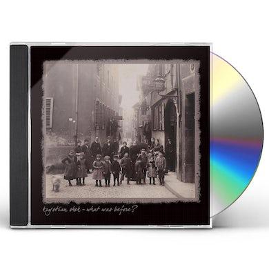 Krystian Shek WHAT WAS BEFORE? CD