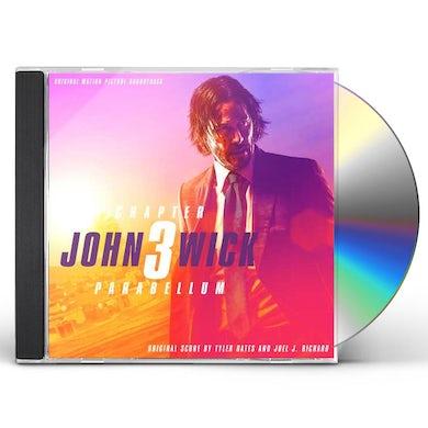 Tyler Bates JOHN WICK 3 - PARABELLUM / Original Soundtrack CD