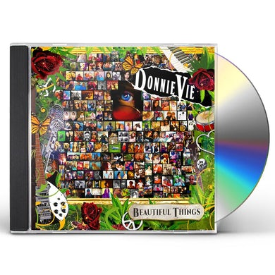 Donnie Vie BEAUTIFUL THINGS CD
