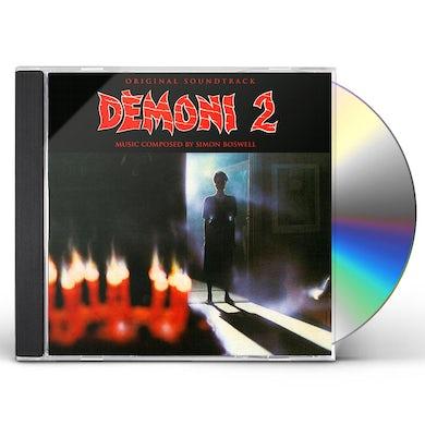 Simon Boswell DEMONS 2: ORIGINAL SOUNDTRACK CD