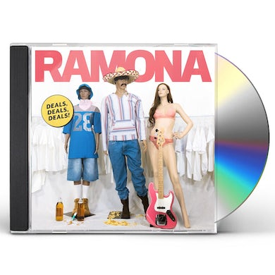 Ramona DEALS DEALS DEALS CD