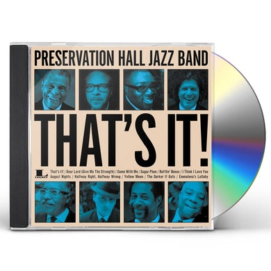 Preservation Hall Jazz Band THAT'S IT CD