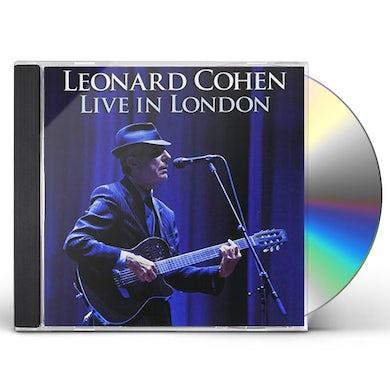 Leonard Cohen LIVE IN LONDON (GOLD SERIES) CD