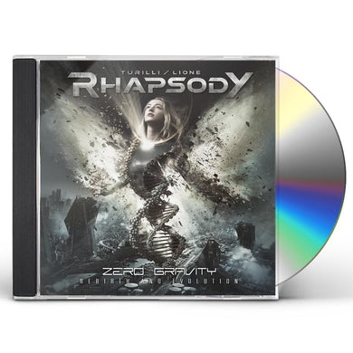 Turilli Rhapsody ZERO GRAVITY (REBIRTH AND EVOLUTION) CD