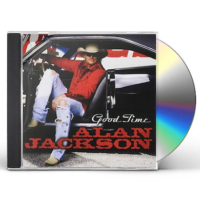 Alan Jackson GOOD TIME (GOLD SERIES) CD
