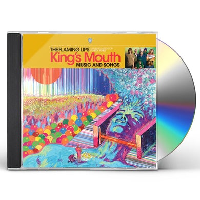 The Flaming Lips KING'S MOUTH CD