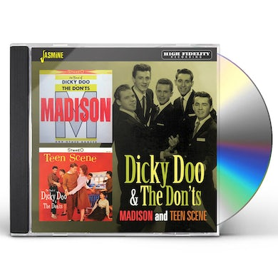 Dicky Doo & The Don'ts MADISON / TEEN SCENE CD