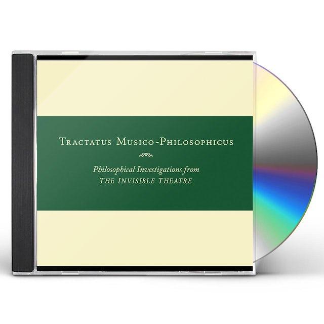 John Zorn TRACTATUS MUSICO-PHILOSOPHICUS-PHILOSOPHICAL CD