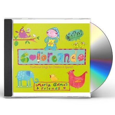 Marta Gomez COLOREANDO: TRADITIONAL SONGS FOR CHILDREN IN CD