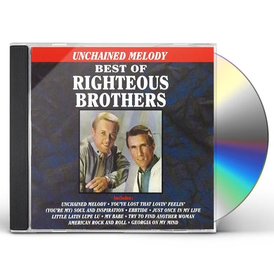 Righteous Brothers UNCHAINED MELODY CD