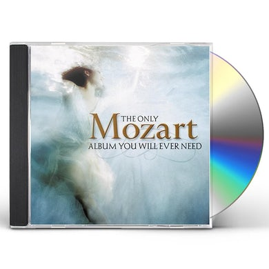 ONLY Wolfgang Amadeus Mozart ALBUM YOU WILL EVER NEED CD