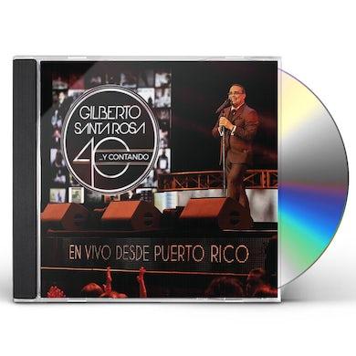40 Y CONTANDO (EN VIVO DESDE PUERTO RICO) CD
