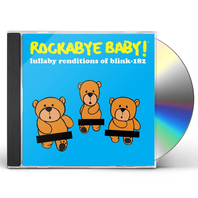 Rockabye Baby LULLABY RENDITIONS OF BLINK 182 CD