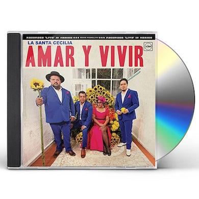 La Santa Cecilia AMAR Y VIVIR: RECORDED LIVE IN MEXICO CD
