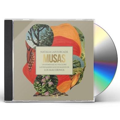 Natalia Lafourcade MUSAS (UN HOMENAJE AL FOLCLORE LATINAMERICA EN) 2 CD