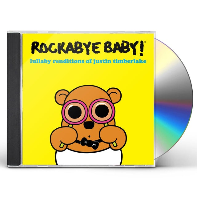 Rockabye Baby LULLABY RENDITIONS OF JUSTIN TIMBERLAKE CD