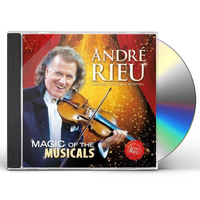 Andre Rieu MAGIC OF THE MUSICALS CD