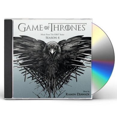 RAMIN DJAWADI GAME OF THRONES ( MUSIC HBO SERIES 4 ) CD