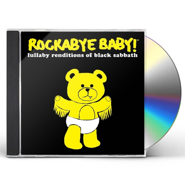 Rockabye Baby LULLABY RENDITIONS OF BLACK SABBATH CD