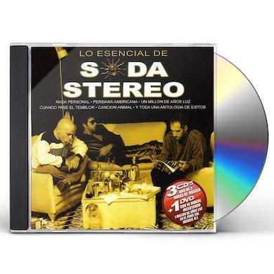 Soda Stereo LO ESENCIAL DE CD