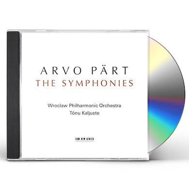 Arvo Part PART: SYMPHONIES CD