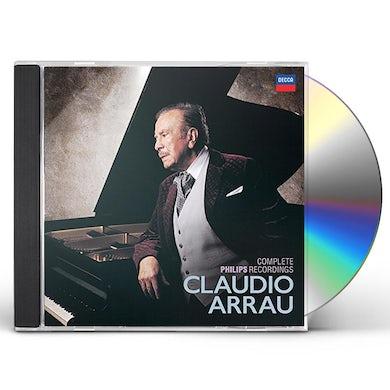 Claudio Arrau COMPLETE PHILIPS RECORDINGS CD
